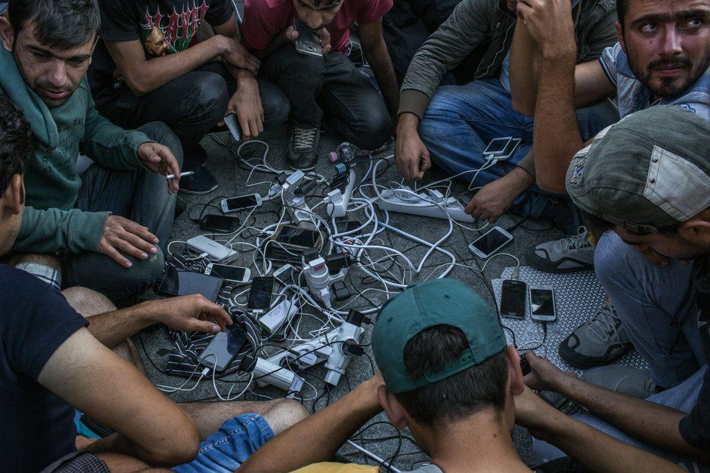 Migrants et téléphones mobiles