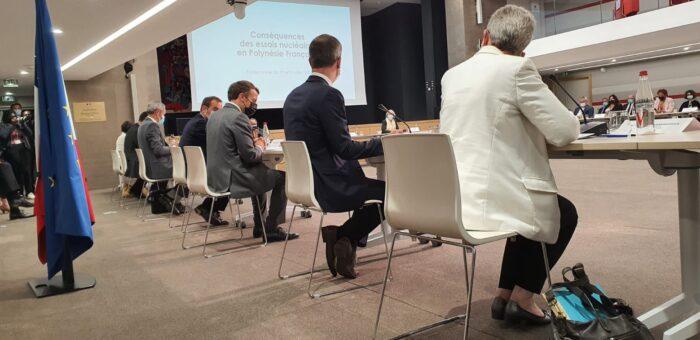 """Séminaire M. Veyssière – """"L'ouverture des archives sur les essais nucléaires en Polynésie française"""" – 21 octobre 2021"""