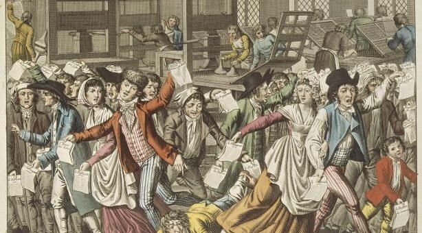 Séminaire N. Pösch « Le gouvernement révolutionnaire et la presse, 1793-1794 » – 25 mars 2021